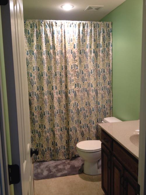 Little Girl Bathroom and 2 Affordable Art Ideas ...