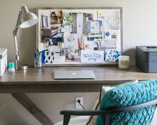 DIY Inspiration Board Close Up