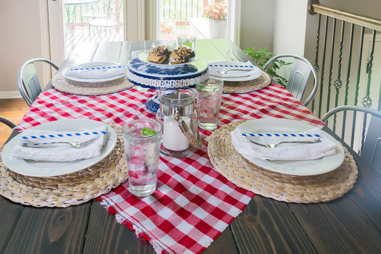 4th Of July Home Decor Happymeetshome