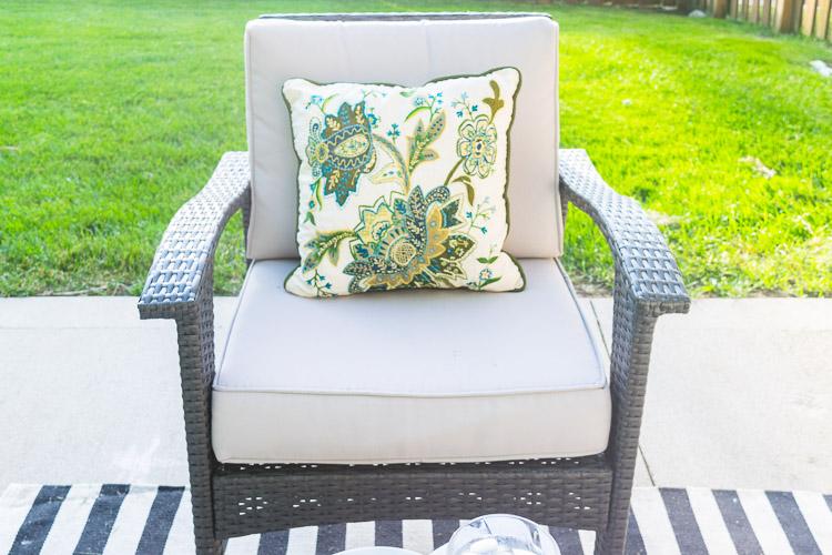 Summer Patio Update Pillows
