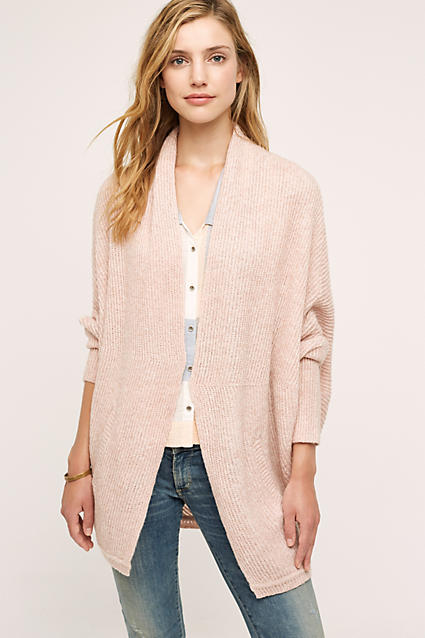 How to Stay on Trend with Color Fashion Blush Cardigan