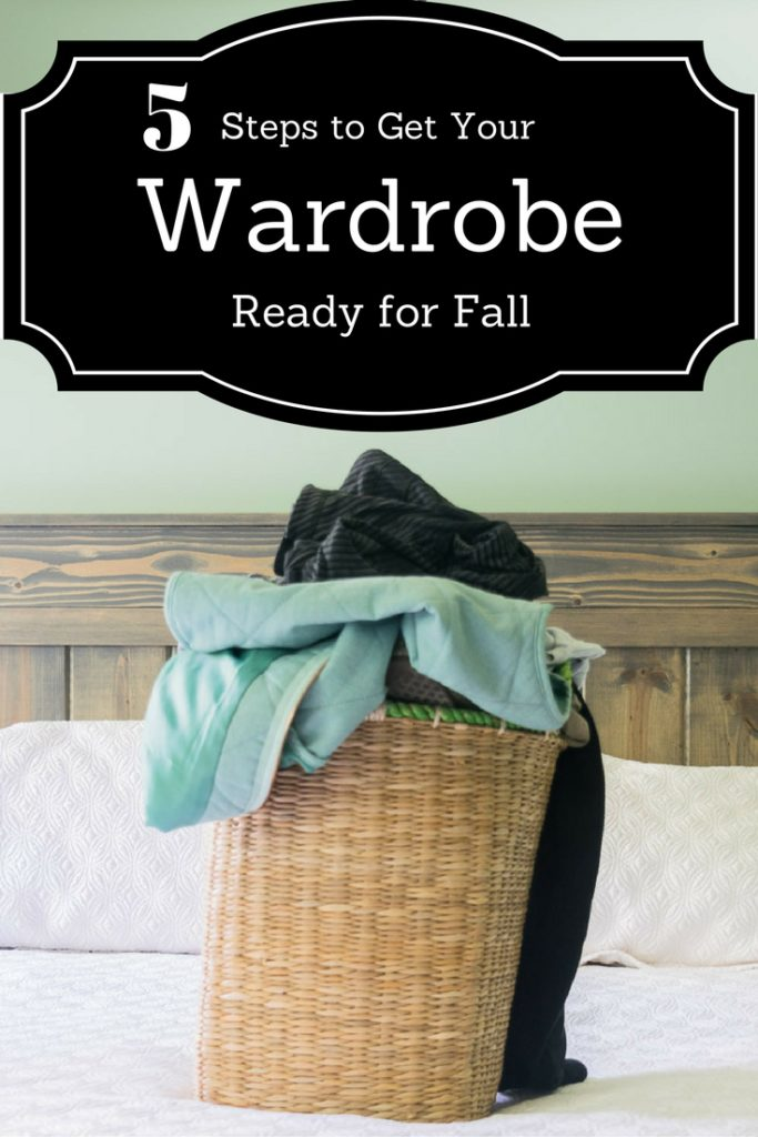 5 Steps to Get Your Wardrobe Ready for Fall Pin