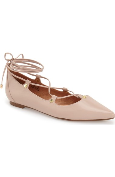 how-to-stay-on-trend-with-color-fashion-blush-flats