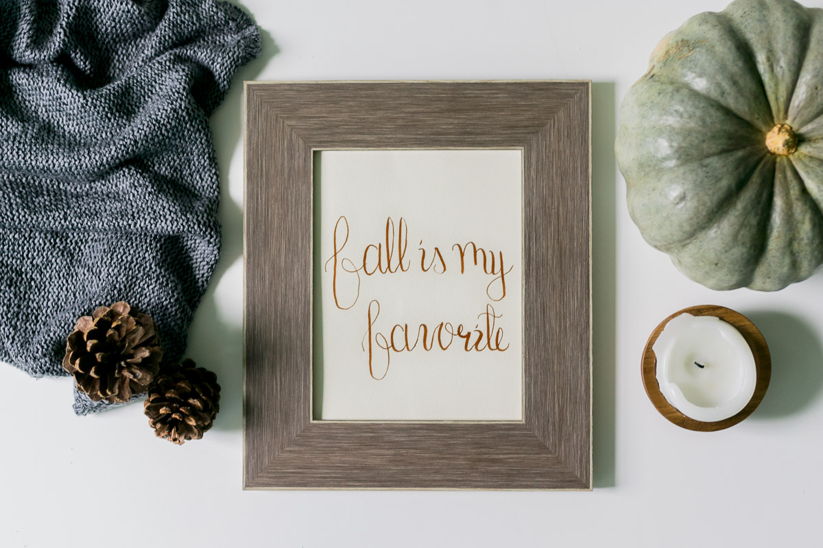 Free Printable fall is my favorite