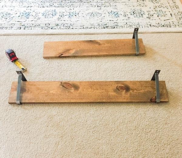 Easy DIY Shelves
