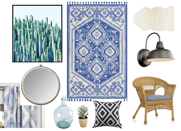 A Cool Southwest Mood Board