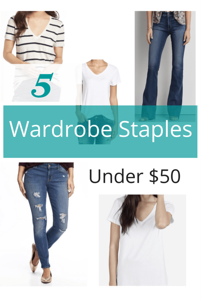 Five Wardrobe Staples Under $50