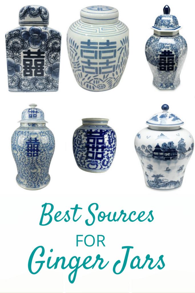 Best Sources for Ginger Jars