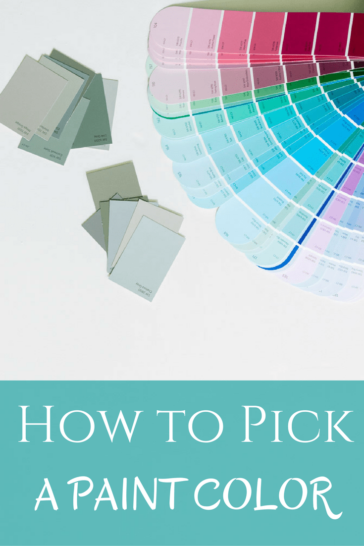 How to pick a paint color happymeetshome for How to pick paint colors