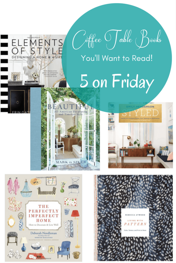 Coffee Table Books You'll Want to Read