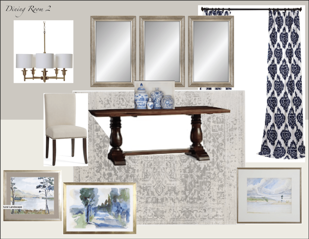 Client Open Concept Mood Boards