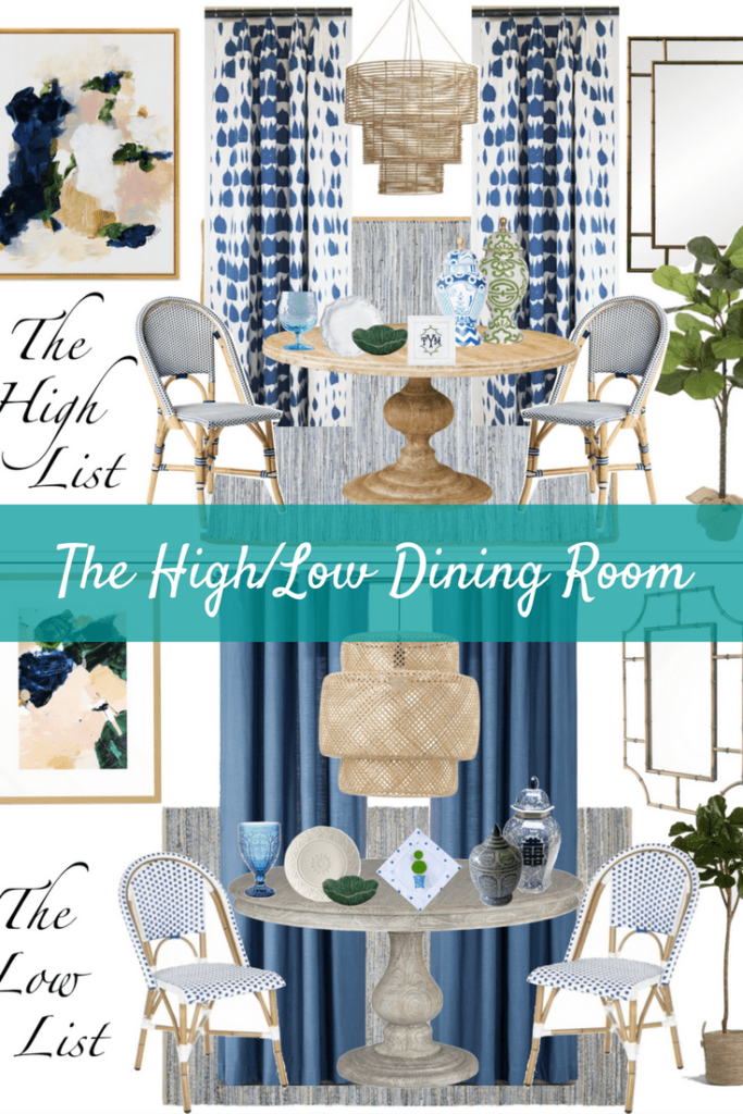 The High Low Dining Room